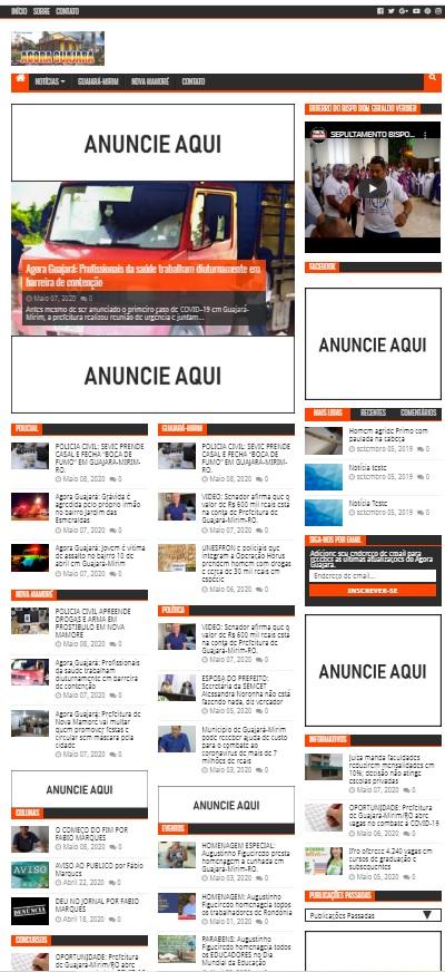 WebSite Notícias #2