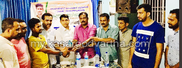 News, Kerala, Football team, Fairoos Bovikkanam felicitated.