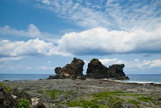 蘭嶼 雙獅岩