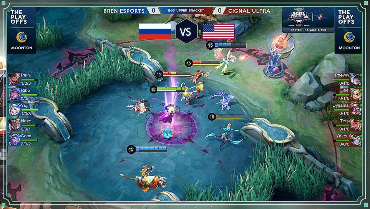 game play seru ML 5v5