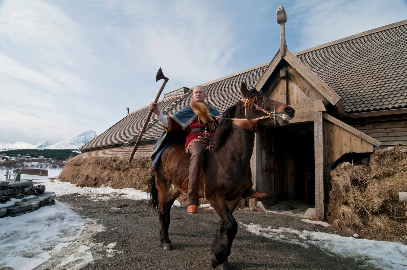 The Lofotr Viking Museum in the Lofoten Islands. Photo: © VisitNorway.com.