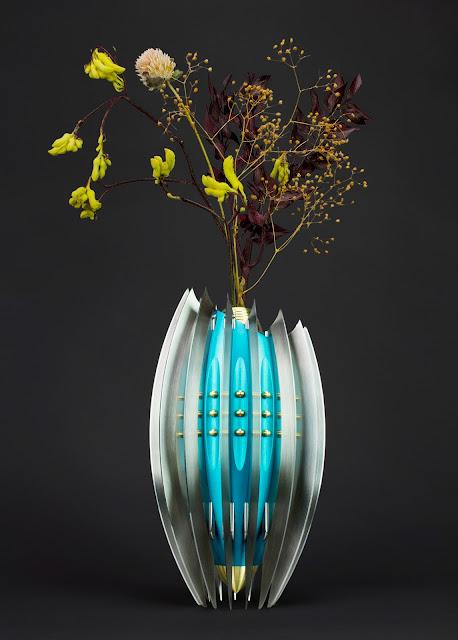 Knife making, Art knife, Vase