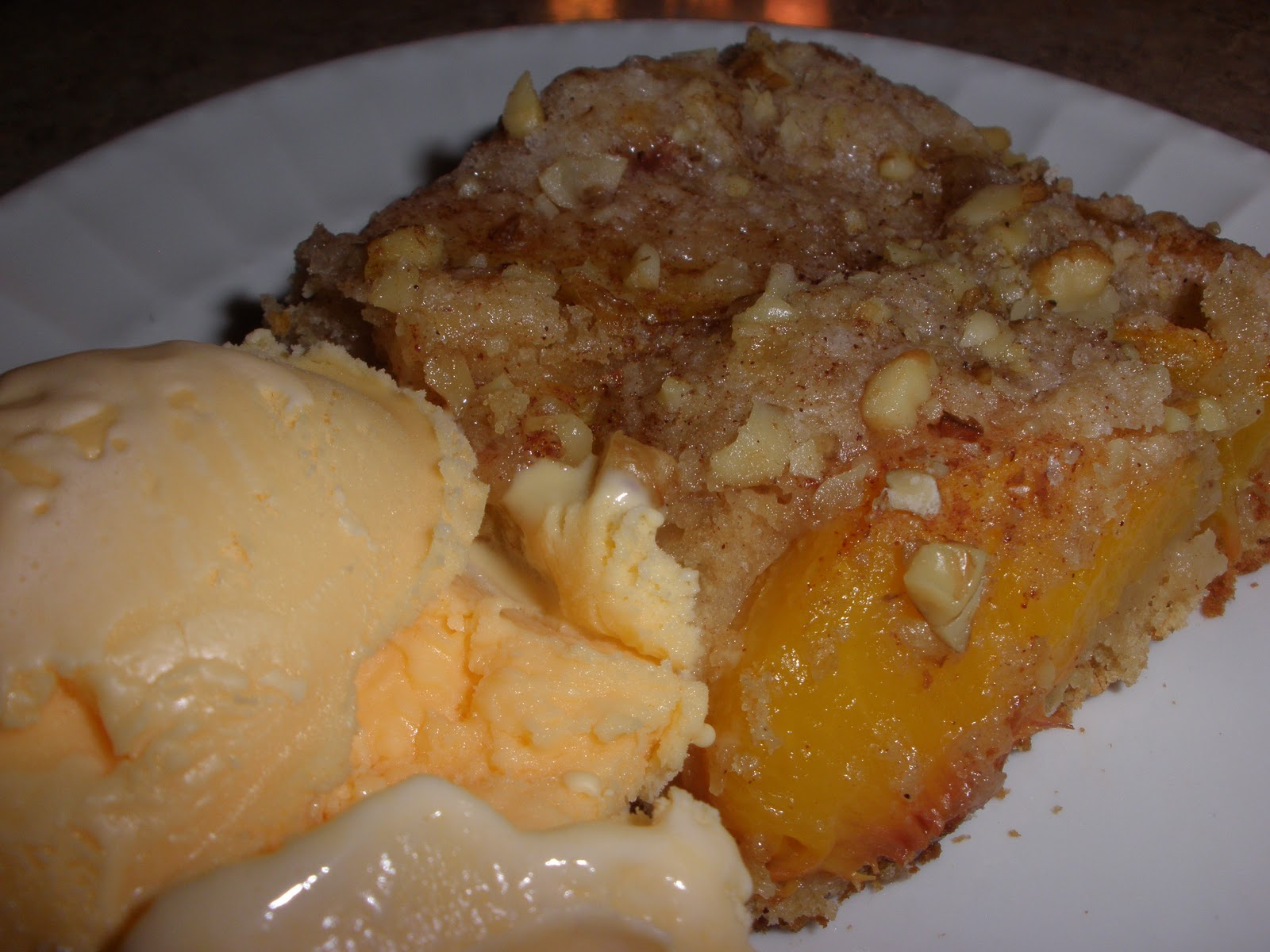 Kuchen P: ~ Over 300 Cookbooks ~: German Fresh Peach Kuchen