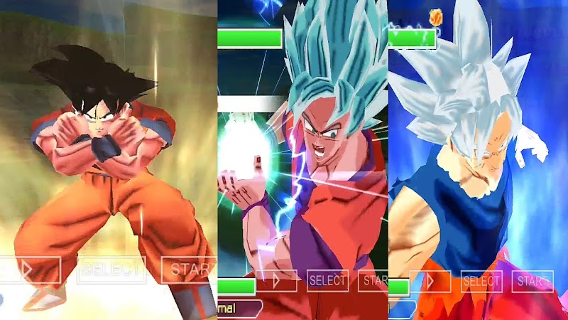 Android Game Dragon Ball Z BT3 PSP ISO