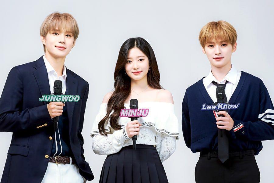Kim Minju, Jungwoo y Lee Know nuevos MCs de Music Core