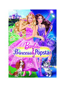 Barbie: The Princess & the Popstar Poster