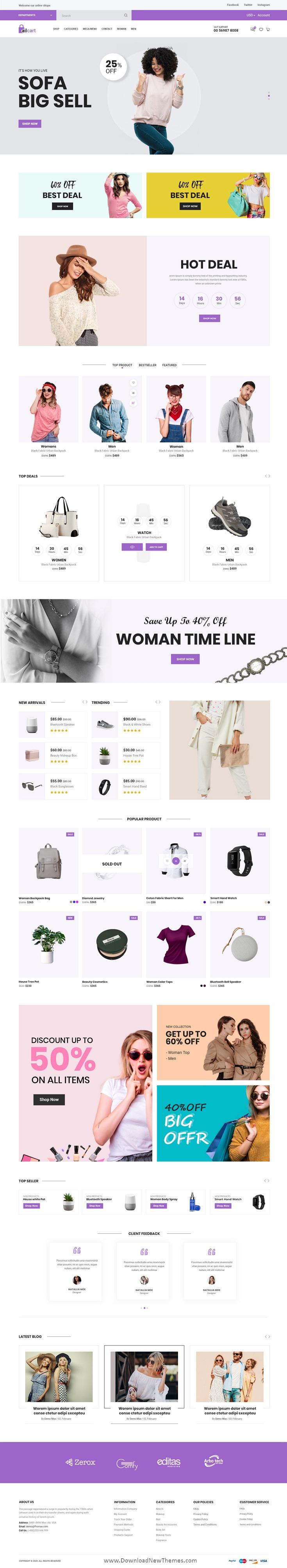 eCommerce UI Template
