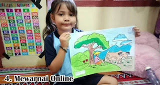 Mewarnai Online merupakan salah satu ide lomba seru untuk memeriahkan hari kemerdekaan di tengah pandemi