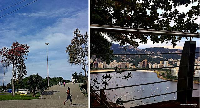 Rio de Janeiro - Aterro do Flamengo e a Enseada de Botafogo vista do Morro da Urca