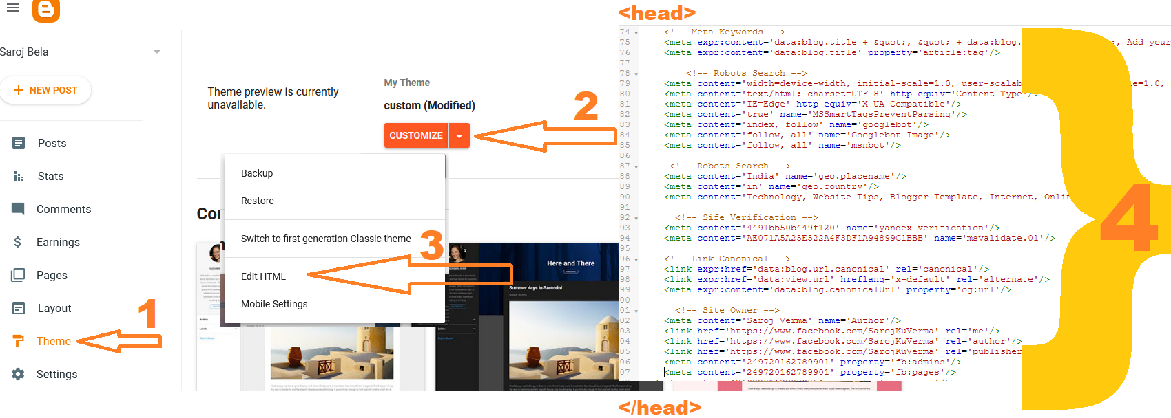 Example of adding JSON-LD NewsArticle In Blog