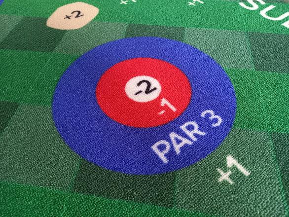 Putt18 Golf Game Putting Mat