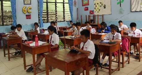 Persiapan Ujian Nasional SD Mei 2018