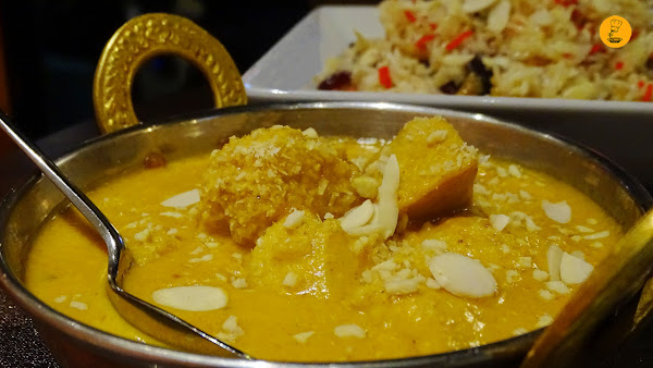 Chicken korma en Doli Madrid