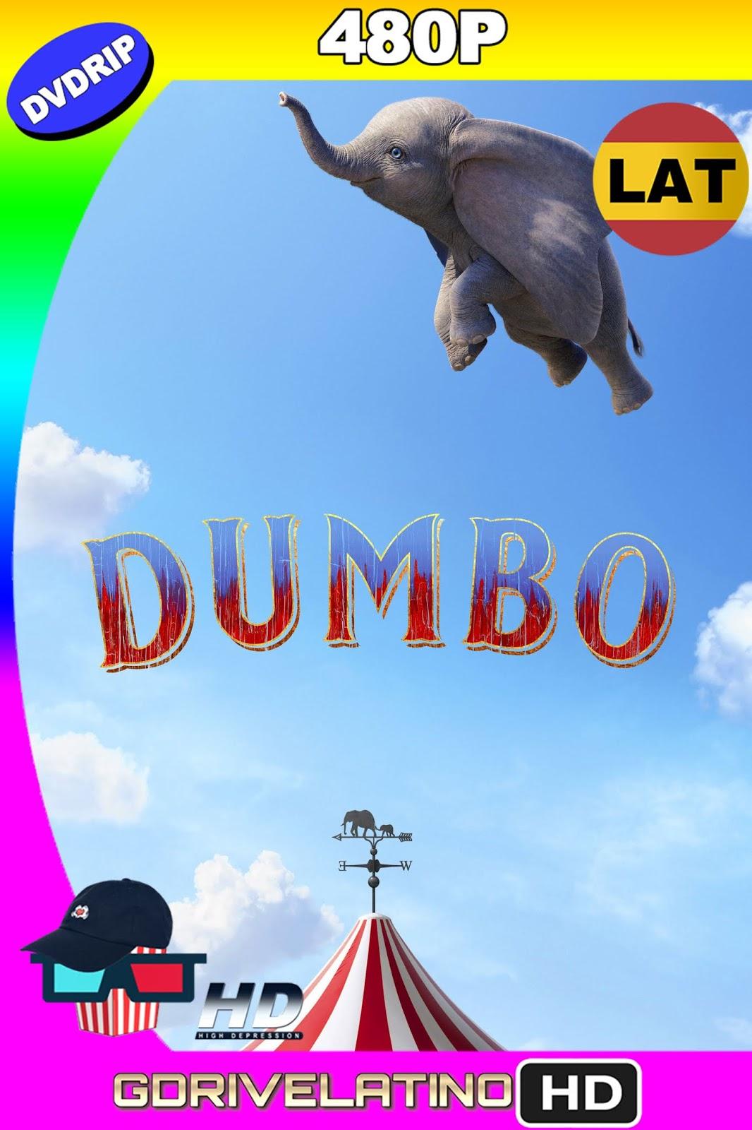 Dumbo (2019) DVDRip 480p (Latino-Inglés) MKV