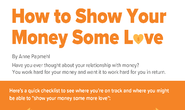 How to Show Your Money Some Love #infographic