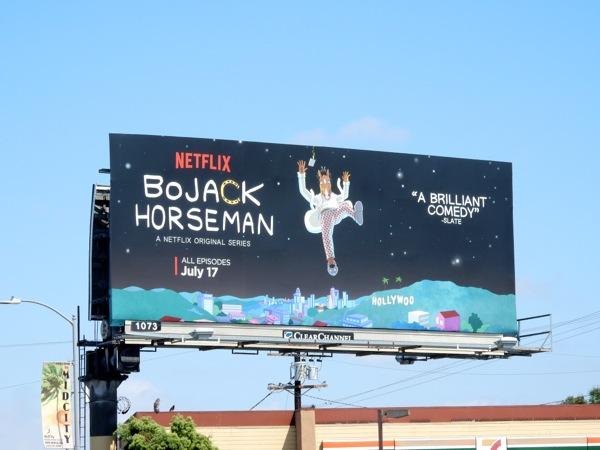 BoJack Horseman season 2 Netflix billboard