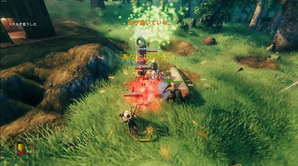 Valheim11 襲撃イベント戦闘画像