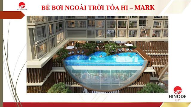 Bể bơi tòa Hi - Mark
