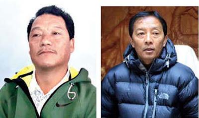 Morcha president Bimal Gurung Binay Tamang