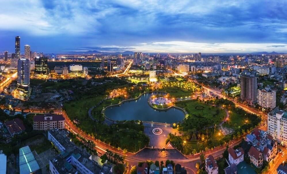 Bất động sản trung tâm Thủ đô Hà Nội