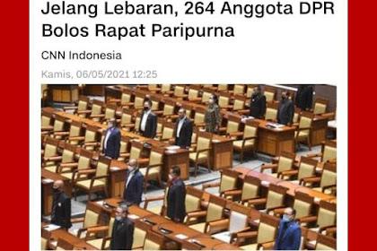 264 Anggota DPR Bolos Rapat Paripurna, Tere Liye Sindir 'Monyet'