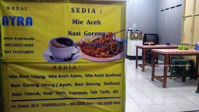 Kedai Ayra, Menghadirkan Mie Aceh di Tasikmalaya