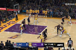 NBA 2K20 Realism Graphic Mod Los Angeles Lakers Arena v2 by Looyh