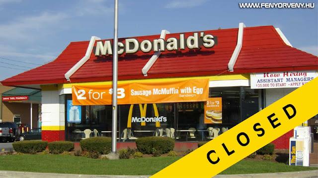 Az ország, ahol bezárták összes McDonald's-ot