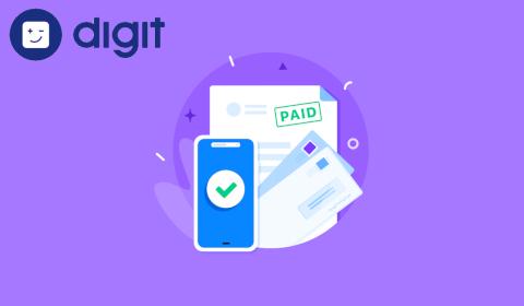 Digit – Paiement de facture téléphonique