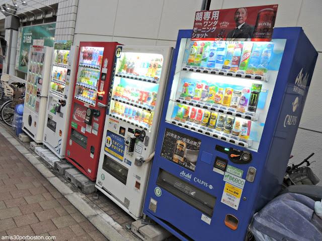 Máquinas Comida y Bebida en Tokio