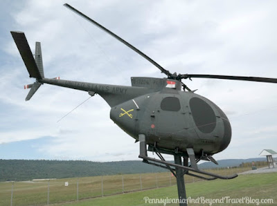 OH-6A Loach Helicopter at Fort Indiantown Gap in Pennsylvania