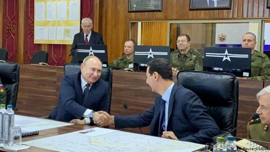Russian President Vladimir Putin Makes Surprise Visit To Syria