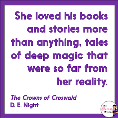The Crowns of Croswald is the perfect start to a new series for Harry Potter fans, full of magical creatures and dark forces, but starring a female protagonist. Read on for more of my review and ideas for classroom application.