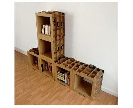 Revista digital apuntes de arquitectura muebles de cart n una alternativa de reciclaje - Muebles en carton ...