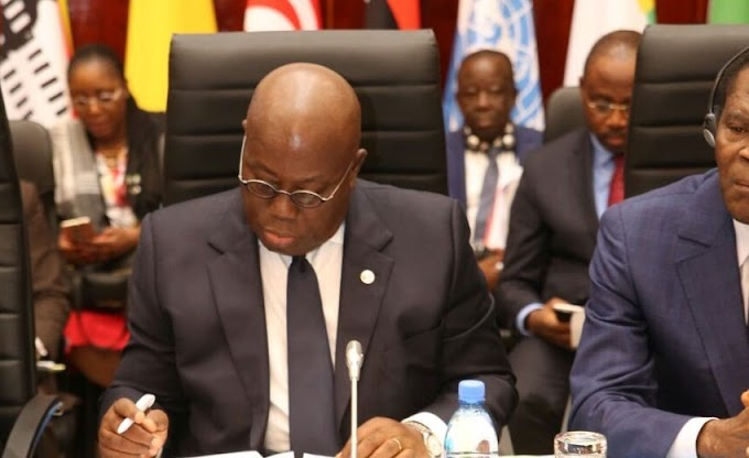 Akufo-Addo on West Africa tour