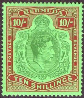 Bermuda George VI 10