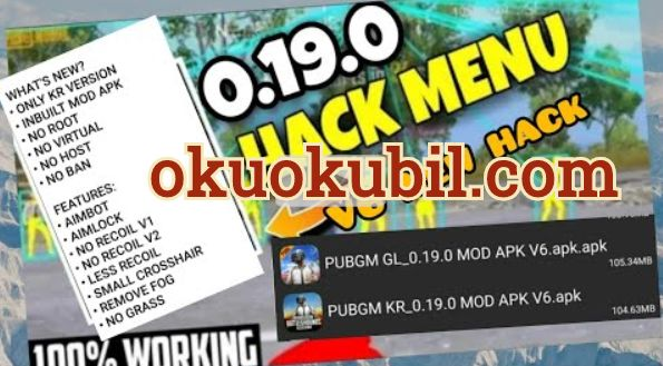 Pubg Mobile 0.19.0 Global Mod Apk v6 Hack Yeni Rootsuz No Root No Ban 2020