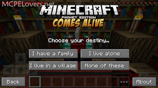 Download Minecraft Comes Alive PE Mod