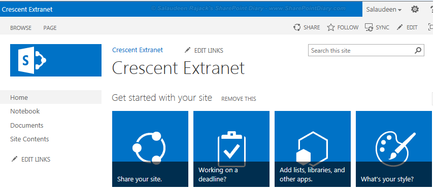 customizing the sharepoint 2013 suite bar branding using powershell