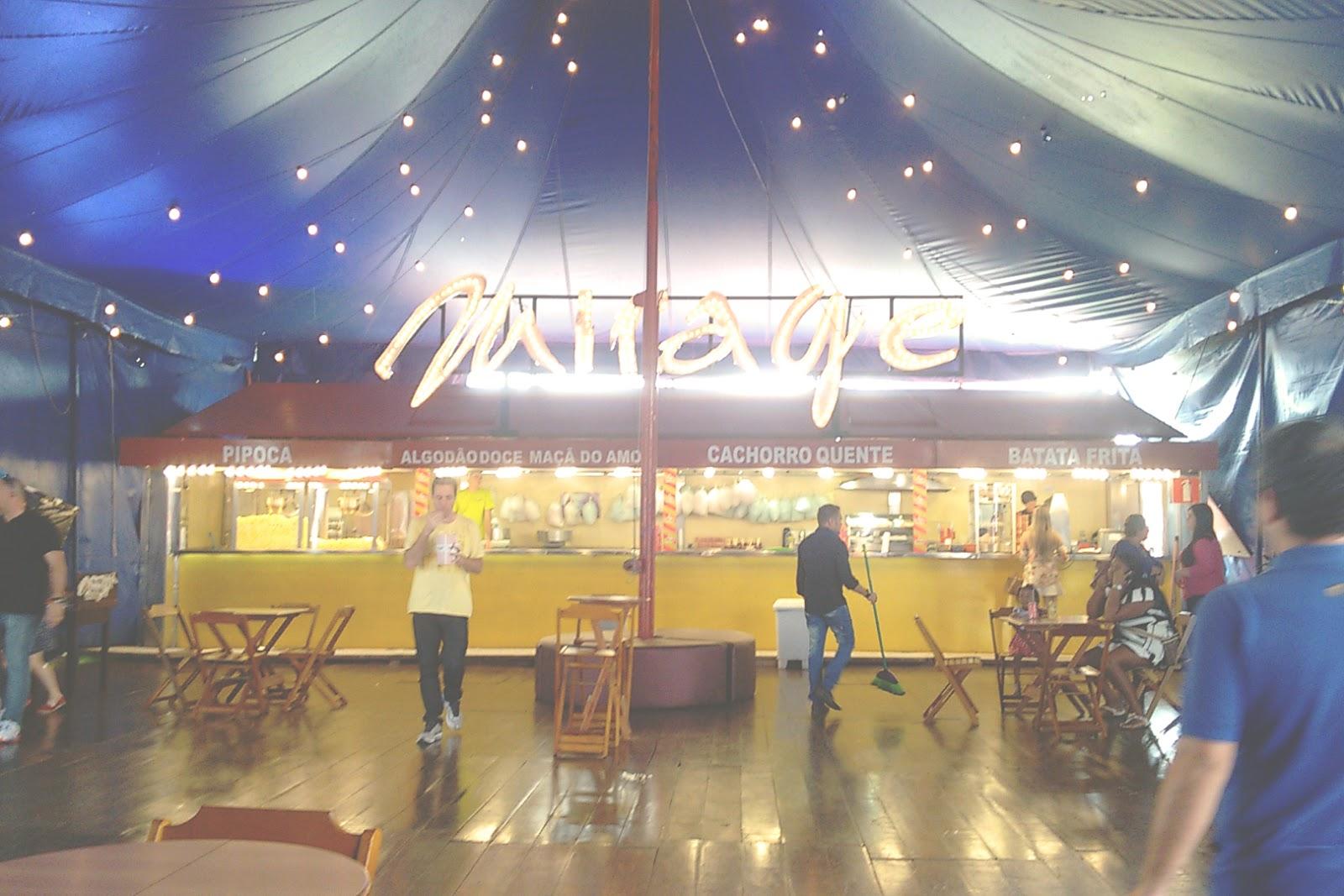 lojas mirage circus