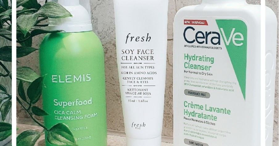 My Current Favourite Cleansers