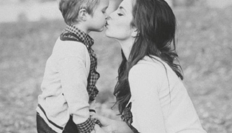 мама и сын фото