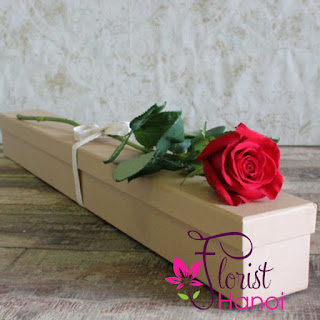 Rose Box for Valentine's day Hanoi