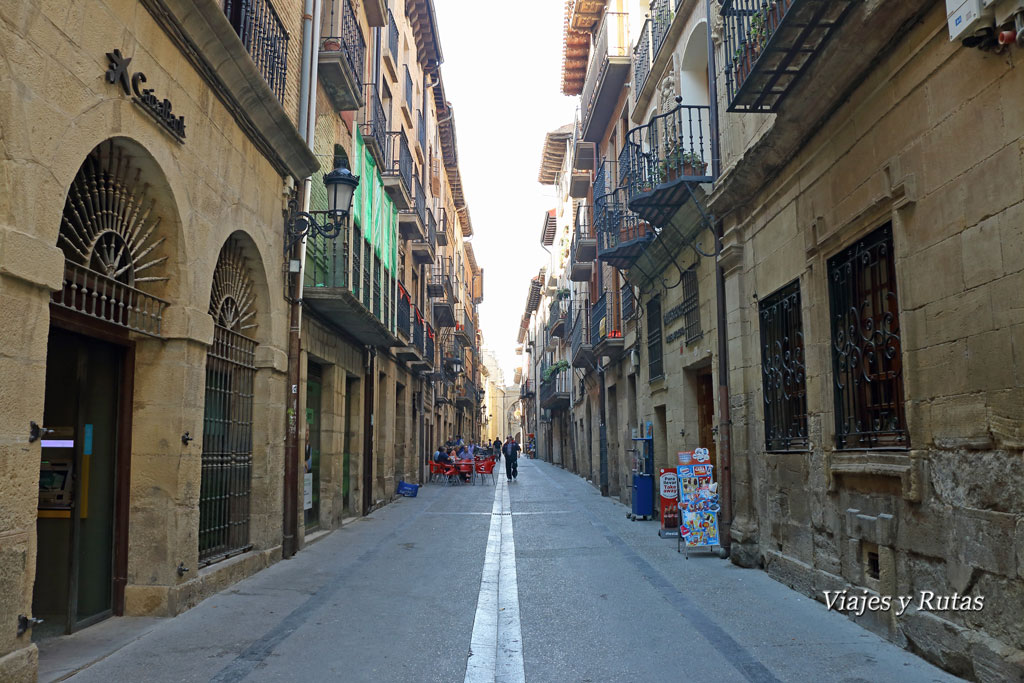 Calles de Viana, Navarra