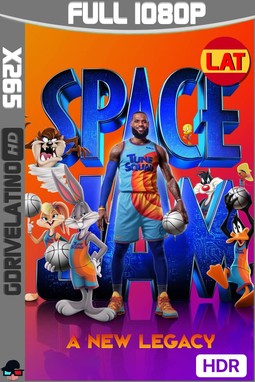 Space Jam: Una Nueva Era (2021) HMAX WEB-DL 1080p x265 HDR Latino-Ingles MKV