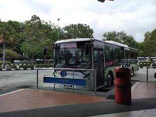 transportasi ke Melaka