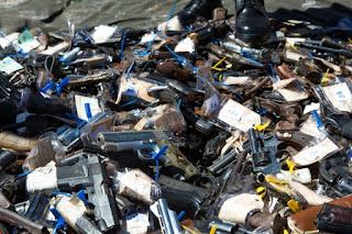 site policia mg - armas destruidas pelas Forças Armadas