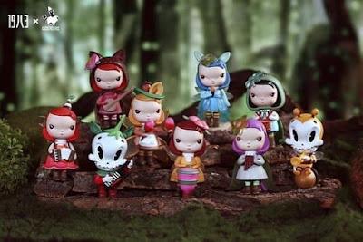 Cherry Moon Garden Mini Figure Series by Kathie Olivas, Brandt Peters & 1983