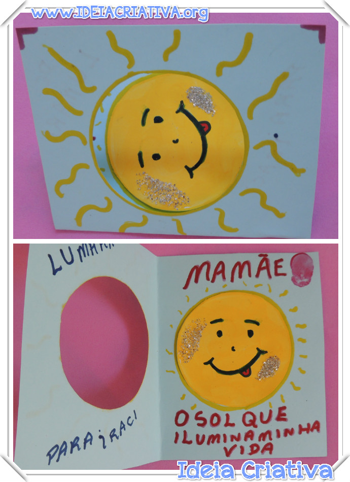 Plano de Aula O Astro Rei Sol e Dia das Mães