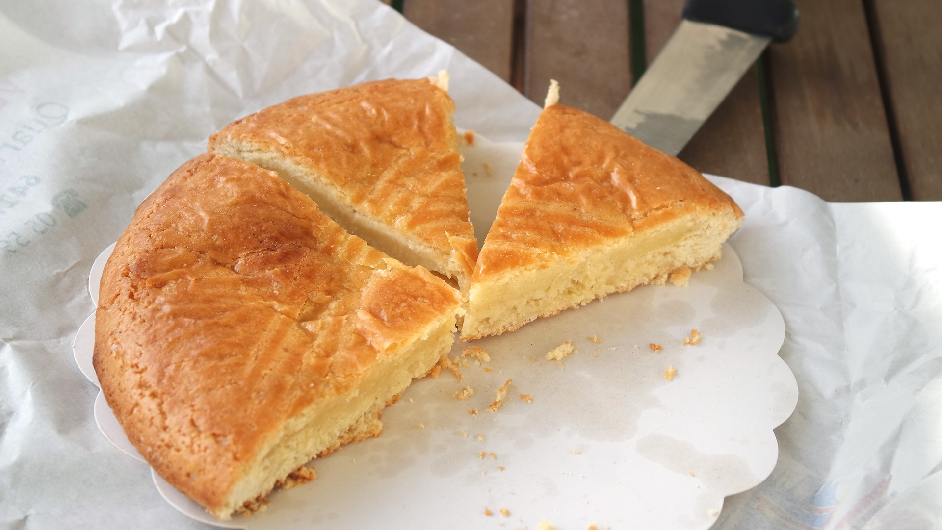 Gâteau Basque du moulin de Bassilour